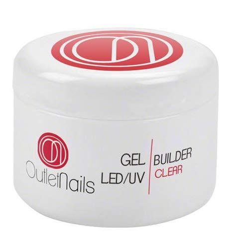 Gel Construction Clear UV/LED 50 ml pour ongles / Builder Gel Transparent / bricoleur