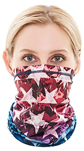 Cooling Neck Gaiter Face Mask Balaclava for Men Women Dustproof Running Face Cover Scarf, Moisture-Wicking, Hypoallergenic