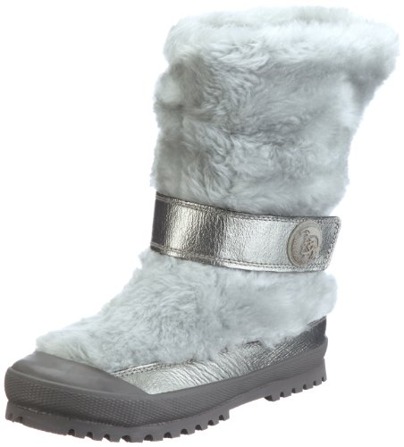 Diesel Kid Mädchen SNOWTIME Snow Ball II K YO-Boots Stiefel, Grau/Grey/Vetiver, 36 EU