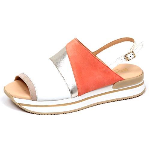 Hogan F2534 Sandalo Donna H257 Scarpe Zeppa Sandal Shoe Woman [37]