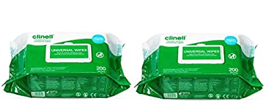 Clinell Universal Wipes-2 Pack by