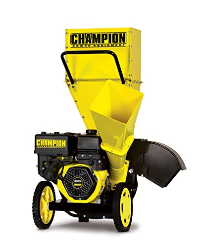 CHAMPION POWER EQUIPMENT 3-Inch Portable Chipper-Shredder...