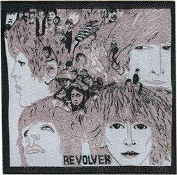 Signs-unique Beatles Revolver LP Cover Bügelbild / Aufnäher, 85 mm, quadratisch