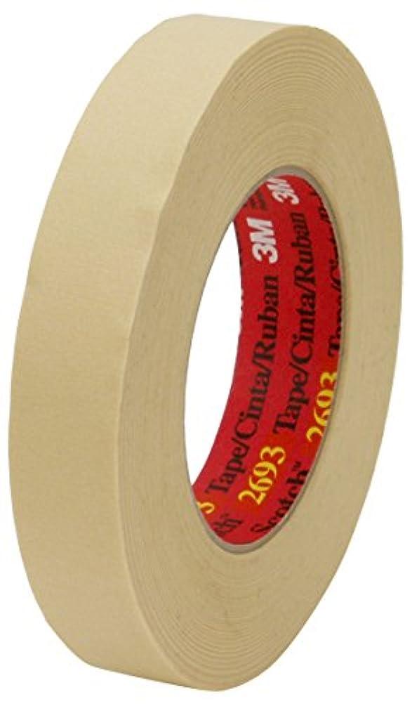 High Performance Masking Tape 2693 on Plastic Core, 12 mm x 55 m 7.9 mL, 72 per case Bulk