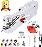 Mini Macchina da Cucire Portatile, Handheld Cordless Strumento di Cucitura Rapida, Handheld Sewing Machine Cordless Electric per Bambini, Artigianato