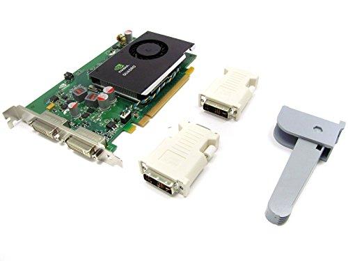 HP NVIDIA Quadro FX 380 Grafikkarte (PCI-e, 256MB, GDDR3 Speicher, DVI)