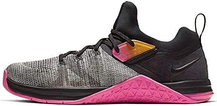 Nike Women's Metcon Flyknit 3 Training Shoe Black/Laser Fuchsia/White Size 8.5 M US