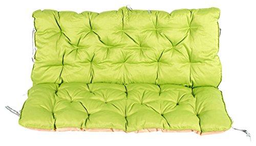 Meerweh rugpaneel voor bank ca. 120 x 98 x 10 cm kussen, groen/beige, 20060
