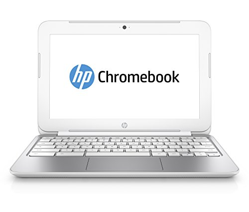 HP Chromebook 11-200ns - Portátil de 11.6' (Samsung Exynos 5 Dual, 2 GB de RAM, 16 GB, Chrome), color blanco nieve - Teclado QWERTY español