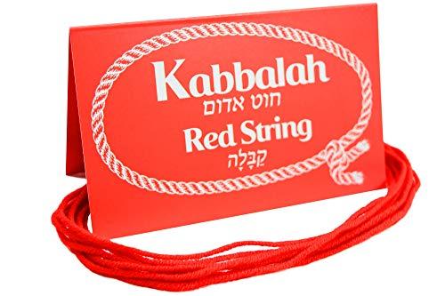 10 Piezas Original Kabbalah Rojo Cadena de protección Pulsera de Mal de Ojo Bendecido en Israel