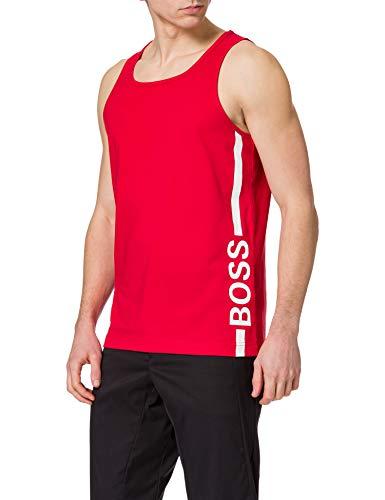 BOSS Beach Tank Top Camiseta de Tirantes, Bright Red628, XXL para Hombre