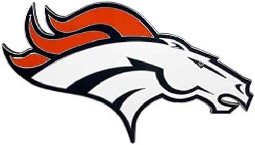Siskiyou Denver Broncos Large Logo Hitch Cover product image