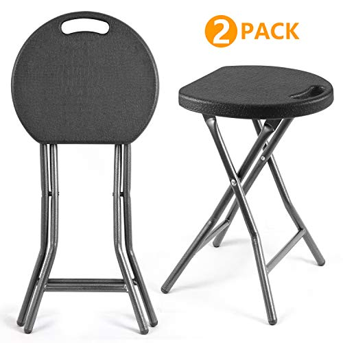 5Rcom Portable Stools Folding Lightweight Set of...