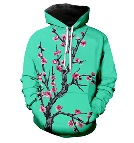 Harajuku Arizona Te Verde 3D De ImpresioN Chaqueta Mujer/Hombre Casual Streetwear Sportswear Hoodies De Las Muchachas Modis ChaNdales De Ropa Femenina Arizona Green Hoody XXXL