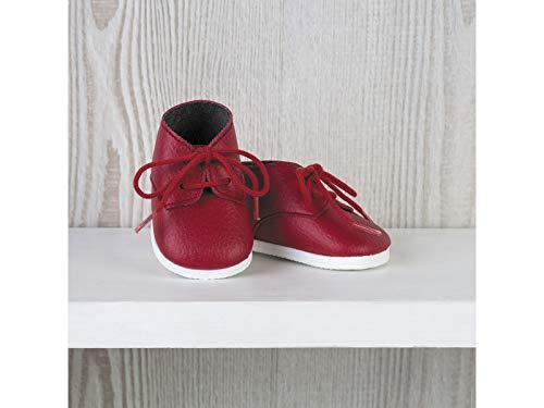 ASIVIL Zapatos Rojo con Cordones Muñeca 43-46 cm 5361605