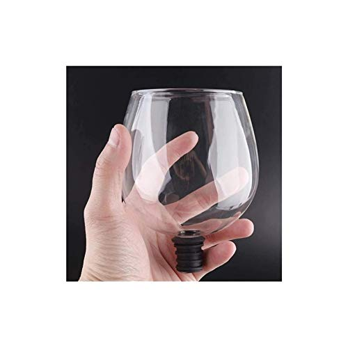 Decantador de vino de cristal hecho a mano, CARAFE BARWARE TRANSPARENTE DIRECTOR PARA BEBER PRODUCTOR DE VINO DE VINO CUCHA DE VERDIENTE EMPLEADO EN LA BODE DE VINO Tapón de la barra Herramientas eleg