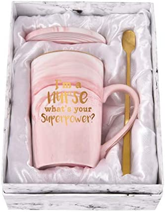 Nurse Coffee Mug Nurse Gifts Coffee Mug for Nurses I m a Nurse What s Your Superpower Nurse product image