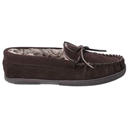 Hush Puppies Ace Mocasines para hombre y zapatillas completas, color Marrón, talla 45 EU