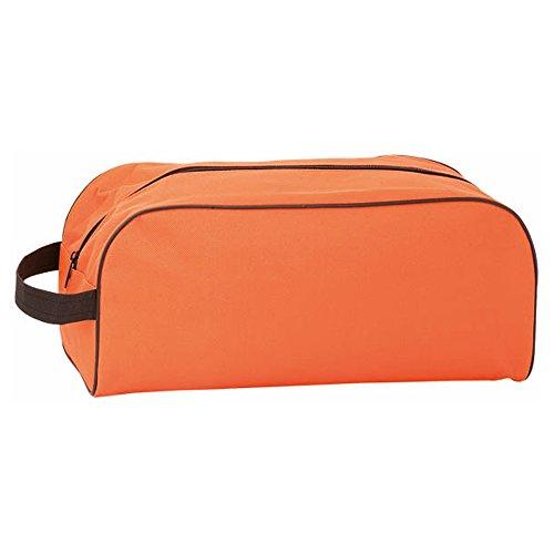 eBuyGB Unisex Sporttasche für Fußballschuhe/Wanderschuh, Orange