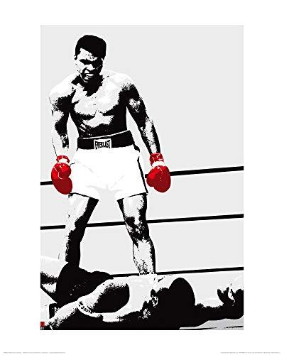 Muhammad Ali 1art1 Boxhandschuhe des Siegers Poster Kunstdruck 50 x 40 cm