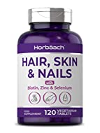 BEAUTY INFUSED: Potent Complex of beautifying nutrients: Biotin, Zinc & Selenium YOUTHFUL FORMULA: with Vitamin C & E for additional support in achieving healthy Hair, Skin & Nails! CONVENIENT: One a Day Formula in Easy-to-Swallow Vegetarian Tablets,...