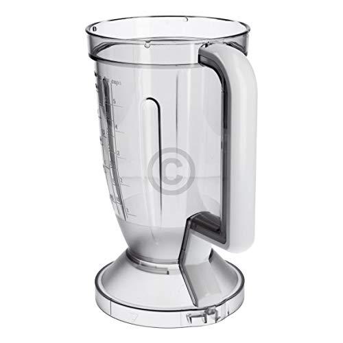 Bosch Siemens 649835 00649835 ORIGINAL Mixbecher Mixbehälter Mixschüssel Behälter Becher Schüssel Kunststoff 140mmØ 1,25L Küchenmaschine Küchenrührgerät Pürierbecher Mixer auch Balay Constructa