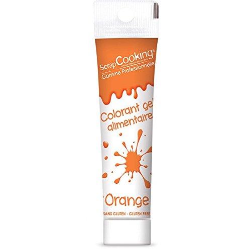 Gel colorant alimentaire orange 20 g