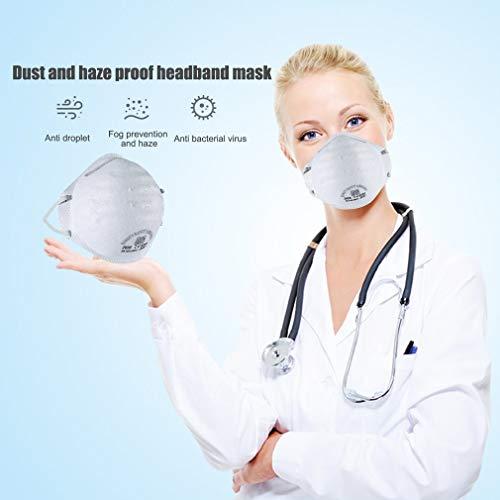 10 STÜCKE N95 FFP2 Mund Staubschutzmaske Falten Schutzmaske Hängen(Eine Million Masken sind auf Lager, und Bestellungen Werden Heute versendet.) - 5