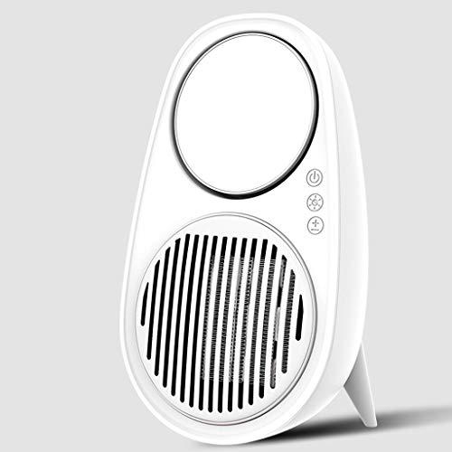 ZXCVBN para hogar Oficina Oficina de Mano de Escritorio pequeño Calentador de Calor Velocidad de Ahorro de energía del Calentador de Aire Caliente de Secado Mini soplante de Aire Caliente (Color : A)