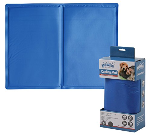 PAWISE Kühlmatte für Hunde, kühlende Hundedecke, Kühlkissen PET COOL MAT - MD - 65 x 50 cm
