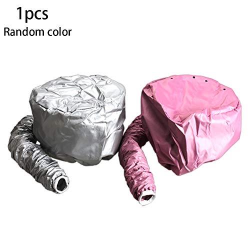 1PC Soft Bonnet Capuche Sèche-Cheveux Casque Chauffant Cheveux Portable Coiffure Souple Bonnet Capuche Chapeau Cheveux Séchage Cap (Aléatoire) Casco per Asciugatura Beautyshow Cuffia (Random)