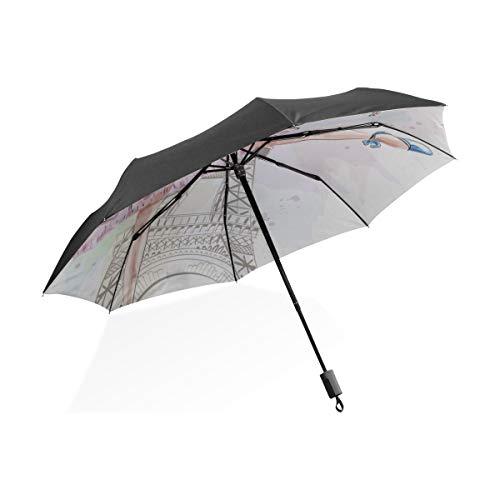 Kunst Regenschirm Erwachsene Nette Ballerina Tanzen Tragbare Kompakte Taschenschirm Anti Uv Schutz Winddicht Outdoor Reise Frauen Tote Inverted Umbrella