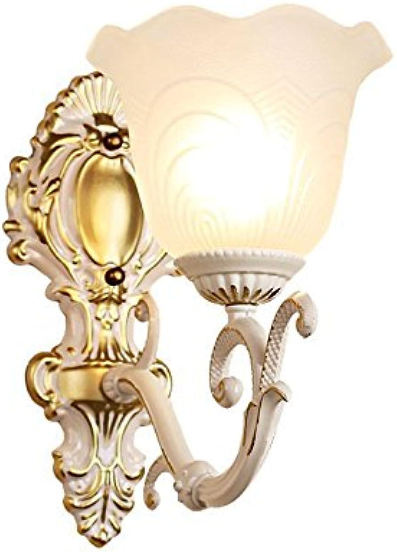 HRCxue Schlafzimmer Nachttischlampe Korridor Wohnzimmer Badezimmer Spiegel Lampe Wandlampe einfache Balkon Lampe 30  20cm
