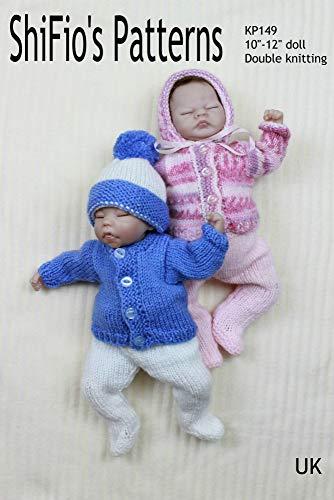 knitting Pattern - KP149 - Pram Set for Doll for 10