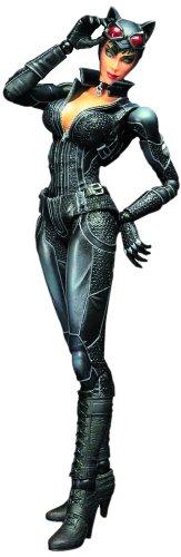 Batman Arkham City Play Arts Kai Catwoman Figurine d'action