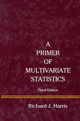 A Primer of Multivariate Statistics