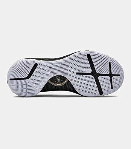 [アンダーアーマー]メンズシューズUACurry6メンズバスケットボールシューズ3020612(4Colors)[並行輸入品](Black-003,28.0cm)