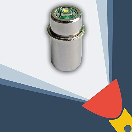 Bombilla de recambio LED, conversión/expansión para linterna MagLite 2D/2C, 3D/3C célula CREE XP-G2CNC