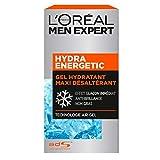 L'Oréal Men Expert - Gel Hydratant Maxi Désaltérant pour Homme - Soin du Visage - Hydra Energetic - 50 ml
