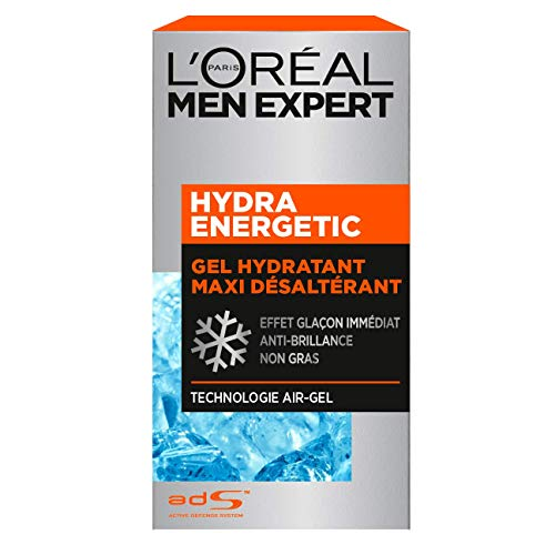 puissant L'Oréal Men Expert – Gel Hydratant Maxi Thirst Homme – Soin Visage – Hydra Energetic…