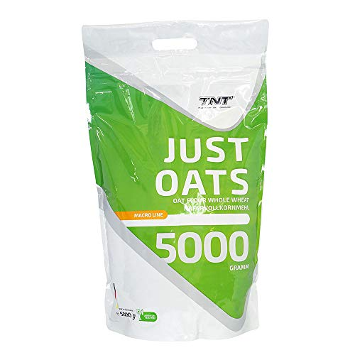 Just Oats – 5kg Premium Hafervollkornmehl – Instant Hafer-Mehl geeignet als Mahlzeitenersatz & Frühstück
