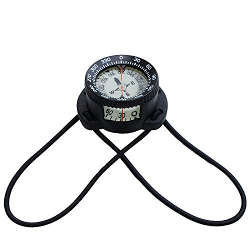 polaris Bungee-Kompass Pro +/- 30° Tauchkompass Diving Compass