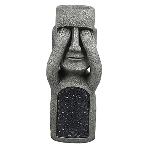 LOVIVER Lustige Osterinsel Statue Figur...