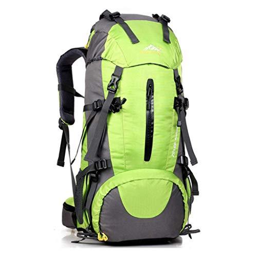 SHRAY 36-55L Sac de randonnée Sac ࠠ Dos d'assaut Sac Tactique d'alpinisme Sac à Dos pour Hommes et Femmes Haute capacité Sacs à Dos d'extérieur Multifonction Camping Nylon Loisirs Vert