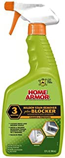 Home Armor FG523 Mildew Stain Remover Plus Blocker, Trigger Spray 32-Ounce