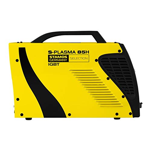 Stamos Welding Group S-PLASMA 85H Plasmaschneider Pilotzündung Plasmaschneidgerät Plasmacutter Plasmaschweissgerät Schweißgerät (400 V, Schneidstrom 20-85 A, Schneidtiefe bis 27 mm, 2T/4T) - 4