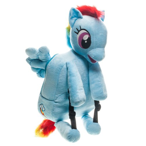 My Little Pony Brony Plush Backpack