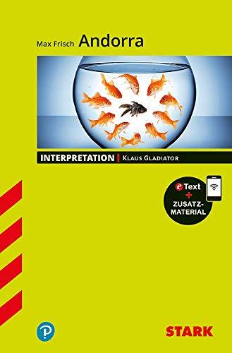 STARK Interpretationen Deutsch - Max Frisch: Andorra