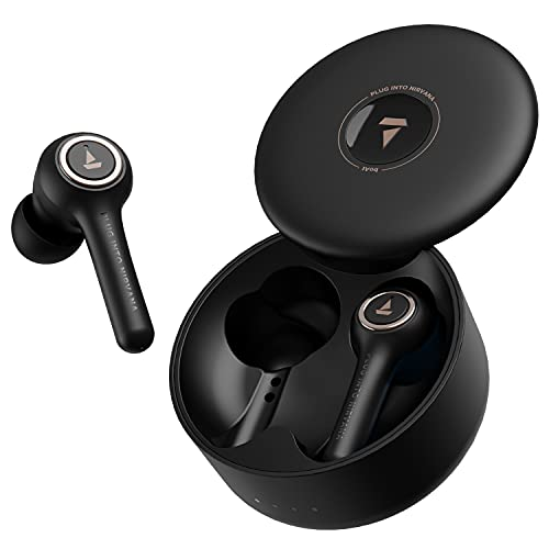 boAt Airdopes 511V2 TWS Ear-Buds with IWP Technology, Ergonomic Never Drop Design, Classy Build, Bluetooth V5.0, Up to 30H Total...