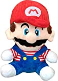 Cute Teddy With Dust cover and Vibrant Color Hand washable and long lasting Super Mario Stuffed toys is lovable and Import Quality Plush Soft Toy Soft Finest Materials non-toxic polyester and fur fabrics of good quality